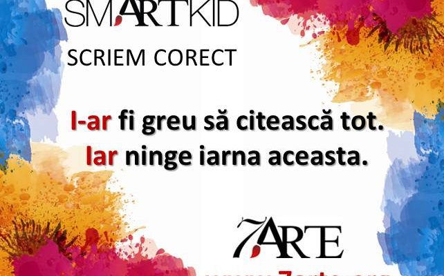 Scriem corect: IAR, I-AR 5
